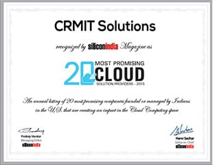 20 Most Promising Cloud Solution Providers