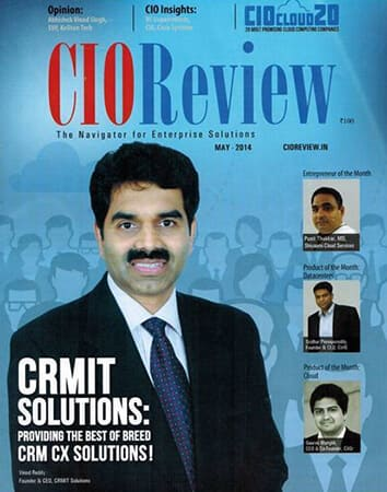 CIO Review and recognized among 20 Most Promising Cloud Computing Companies