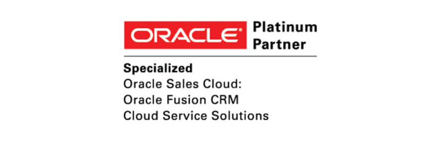 CRMIT Solutions Achieves Oracle PartnerNetwork Specialization for Oracle Sales Cloud