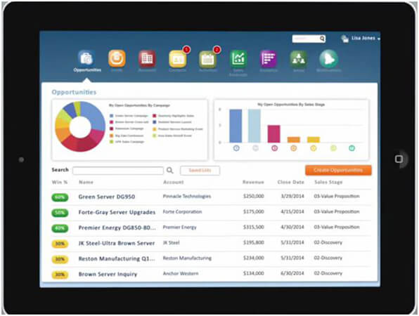 Oracle® Sales Cloud Mobile Solution